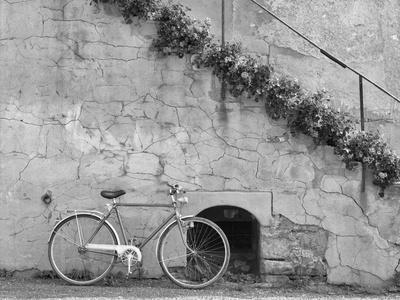 Bicycle & Cracked Wall, Einsiedeln, Switzerland 04