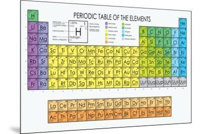 Vector periodic table of the elements prints by maxger at allposters urtaz Gallery