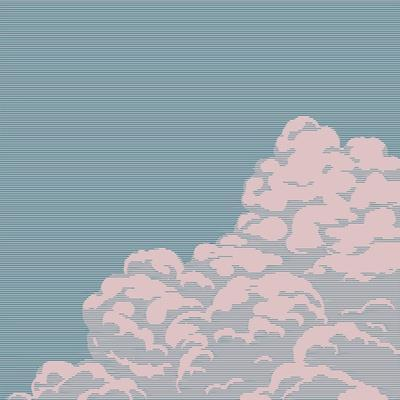 Vintage Engraving Cloud