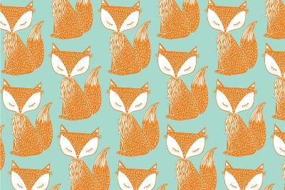 Fox Background Vector/Illustration