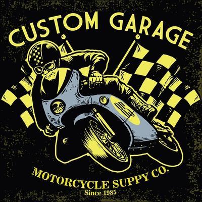Retro Motorcycle Race