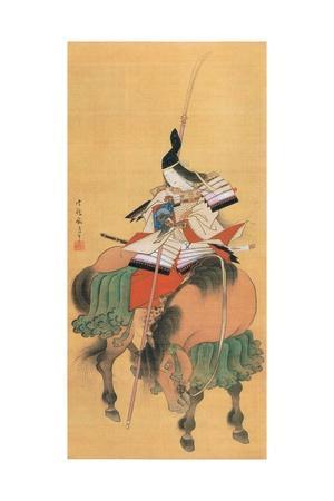 Female Samurai Warrior Tomoe Gozen