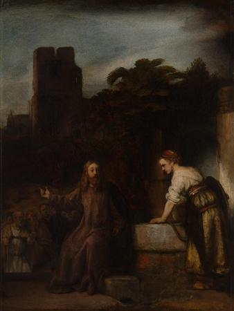 Christ and the Woman of Samaria, C.1655
