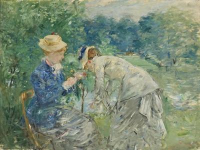 In the Bois De Boulogne, C.1875-9