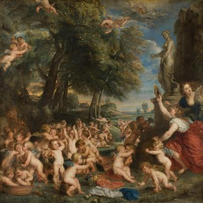 Worship of Venus, C.1635