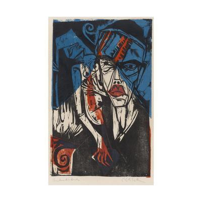 Illustration for 'Peter Schlemihl' by Adalbert Von Chamisso, 1915