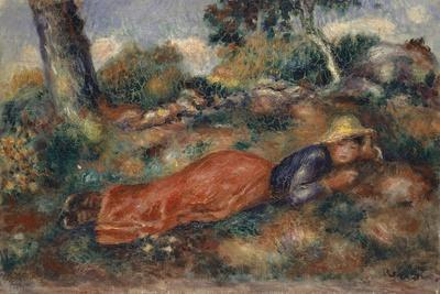 Young Woman Lying in the Grass, 1890-95