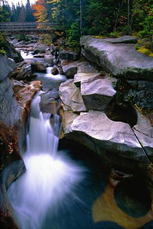 Cascading Falls on the Ammonoosuc River