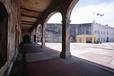 Courtyard of Fort San Cristobal Old San Juan