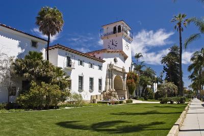 Beautiful Courthouse, Santa Barbara, California