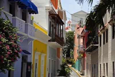 Colorful Street, Old San Juan, Puerto Rico
