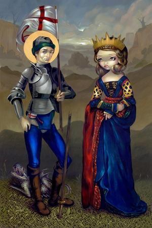 Saint George and Princess Sabra