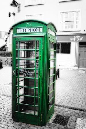 Phone Booth, Kinsale, Ireland