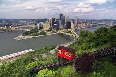 The Duquesne Incline, Pittsburgh, Pennsylvania
