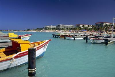 View of Palm Beach from the Fishing Pier Aruba