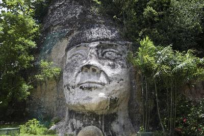 Taino Indian Sculpture, Isabela, Puerto Rico