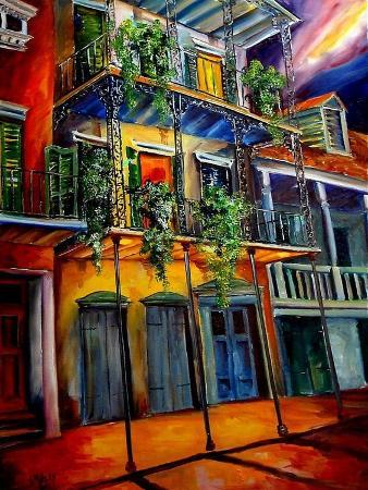 Mysterious French Quarter
