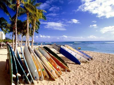 Waikiki Surfboards, Honolulu, Oahu, Hawaii
