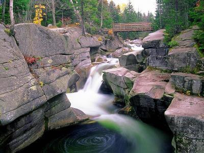 Whirling Water, White Mountains, New Hampshire