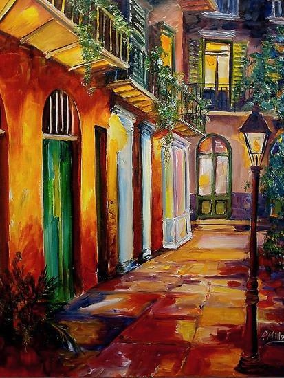 Pirates Alley By Night Posters by Diane Millsap at ...