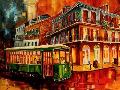 New Orleans Night Streetcar