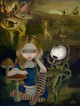 Alice in a Bosch Landscape