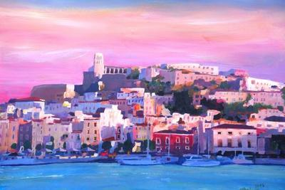 Ibiza Eivissa Old Town And Harbour Pearl Of The Mediterranean