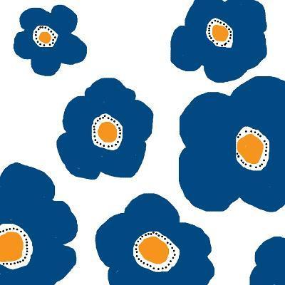 Blue Pop Flowers