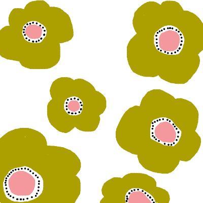 Green Pop Flowers