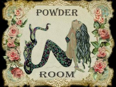 Powder Room Mermaid