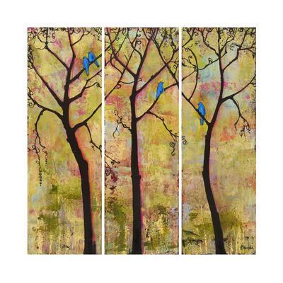 Art Tree Print Triptych
