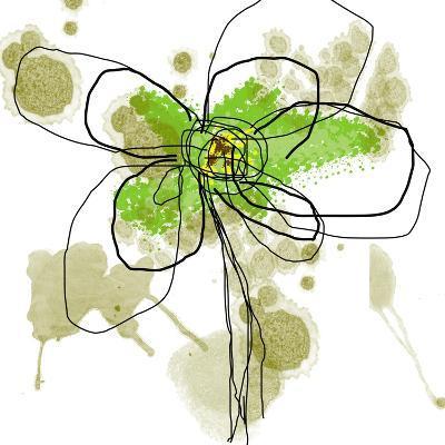 Liquid Green Flower