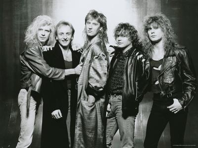 Def Leppard - Hysteria Tour 1987 B&W