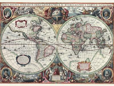 Nova Totius Terrarum Orbis Tabula