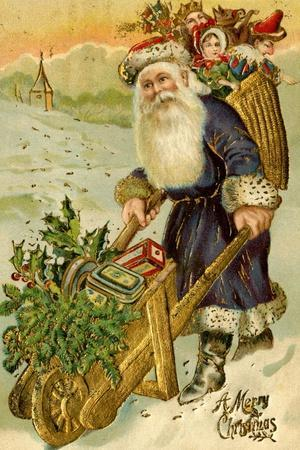 Father Christmas, Beatrice Litzinger Collection