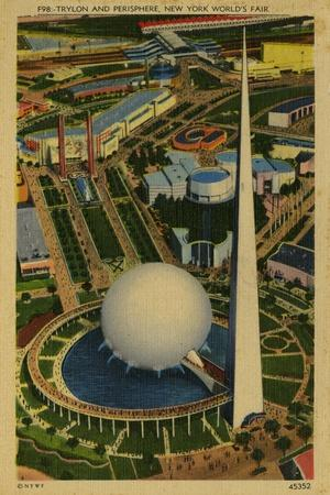 Trylon and Perisphere, New York World's Fair