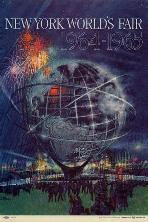 Center Warshaw Collection Centennial Expositions, New York World's Fair