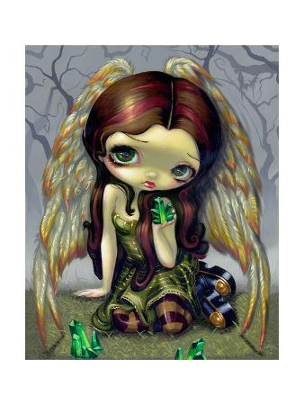 Angel with Emeralds