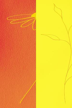 Orange Floral II