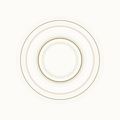 Neutral Circles On White