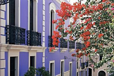 Colorful Balconies of San Juan, Puerto Rico