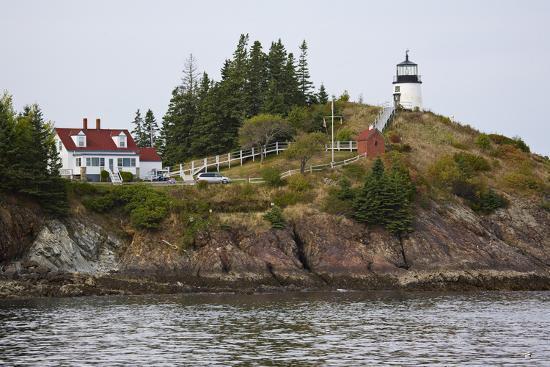 Owls Head Lighthouse Rockland Harbor Maine Photographic