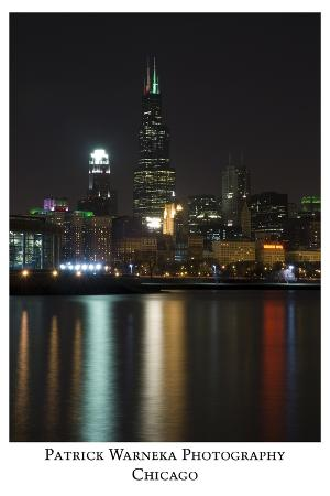 Chicago sears tower skyline