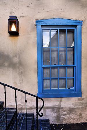 Blue Window, Santa Fe, New Mexico