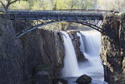 Footbridge Over The Great Falls, Paterson, NJ