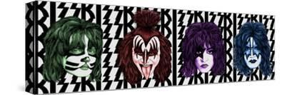 KISS - Faces with Logo