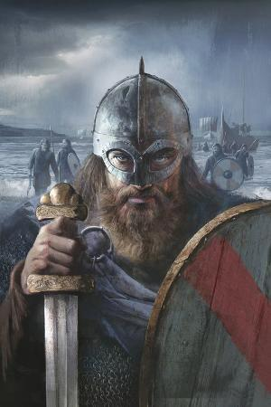 A Scandinavian Warrior Chief from the Late 10th Century Ready For Battle