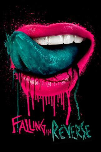 Falling In Reverse Lips Poster At Allposters Com