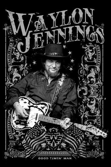 d901818578861 Waylon Jennings - Good Timin  Photo at AllPosters.com
