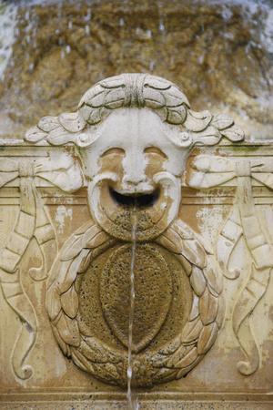 Fountain Sculpture Detail, Sausalito, Marin County, California